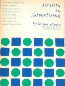 Reality In Advertising Book Cover