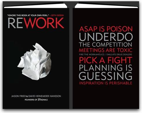 Rework Book Cover