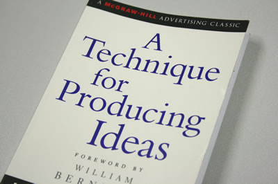 Technique For Producing Ideas Book Cover