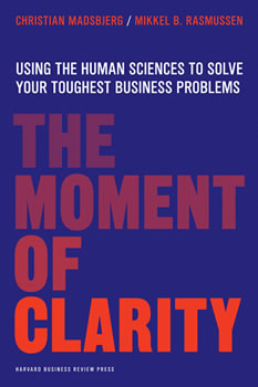 The Moment Of Clarity Book Cover