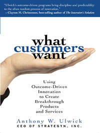 What Customers Want Book Cover