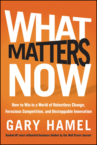 What Matters Now Ideas Book Cover